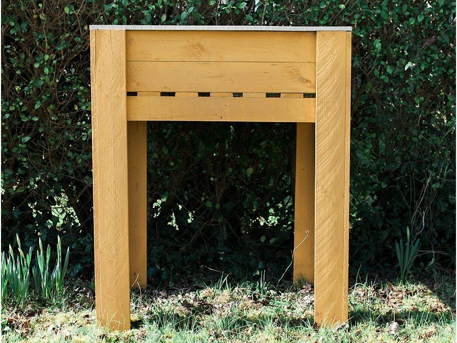 Atelier de fabrication de meubles – Un jardin debout