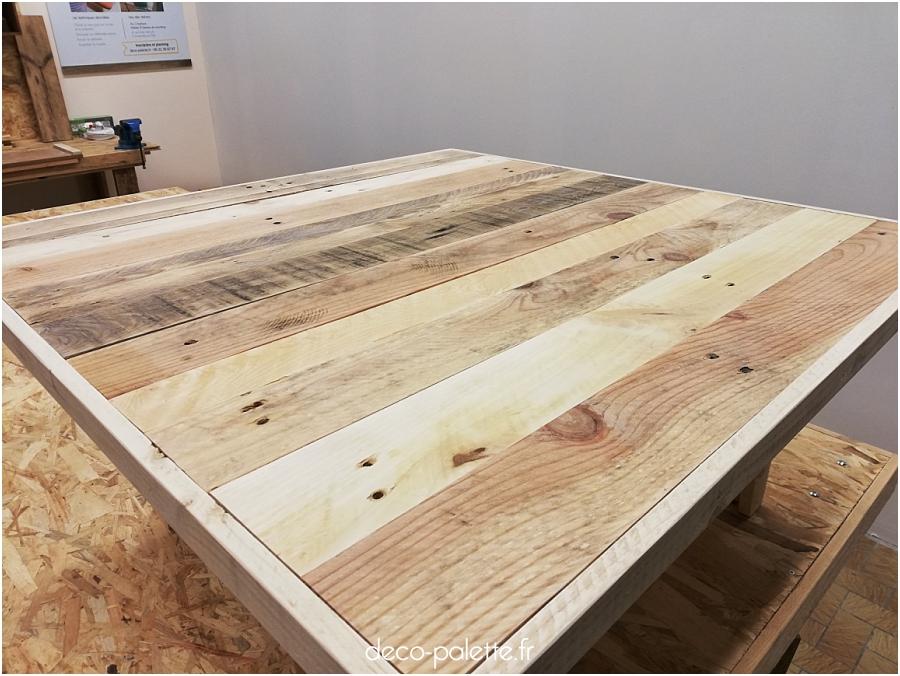 Une table basse sur-mesure